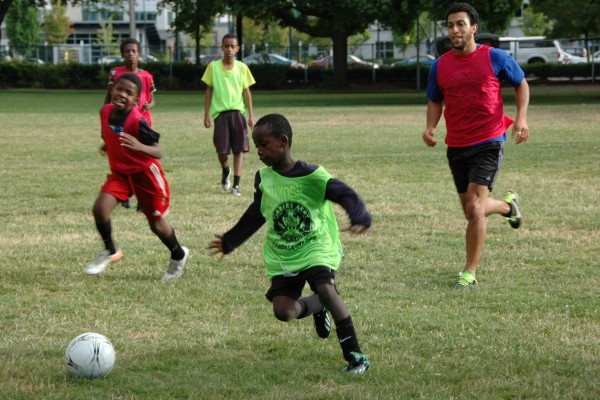 Summer Soccer in the Park 2015